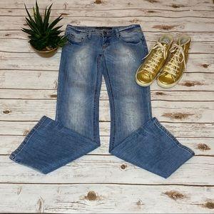 Urban Behavior Melrose distressed boot jeans